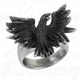 Ring Flocking Raven - ALCHEMY GOTHIC - R197
