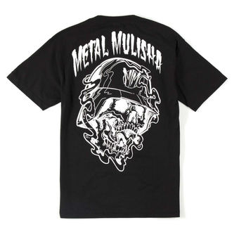Herren T-Shirt   METAL MULISHA - SPEW T-SHIRT - BLK