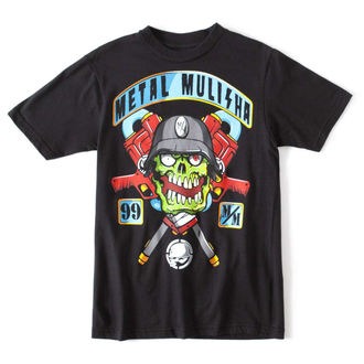 Kinder T-Shirt METAL MULISHA - SQUAD - BLK