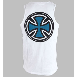 Top Men INDEPENDENT - PIN LINED CLASSIC CROSS VEST - WEISS