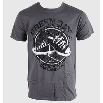 Herren T-Shirt   Green Day - Converse - Grey - BRAVADO EU - GDTS04MG
