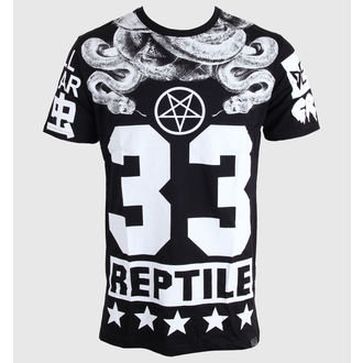 Herren T-Shirt KILLSTAR - Reptile - Black