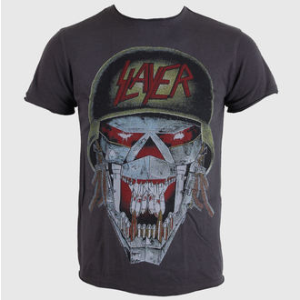 Herren T-Shirt AMPLIFIED - Slayer - Army - Charcoal