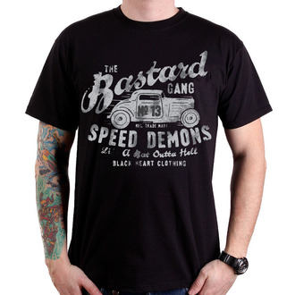 Herren T-Shirt   BLACK HEART - Speed Demons - Black