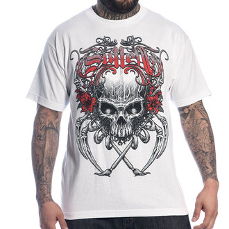 Herren T-Shirt   SULLEN - Death Badge - WHT