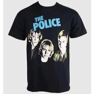 Herren T-Shirt   The Police - Outlandos D'amour - PLASTIC HEAD, PLASTIC HEAD, Police