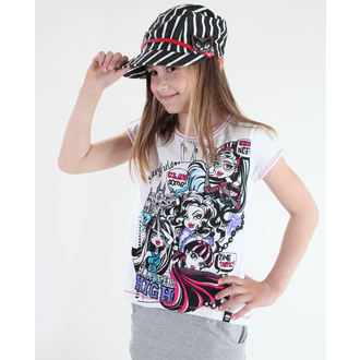 Mädchen T-Shirt Monster High - White - MOH 556