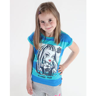Mädchen T-Shirt Monster High - Blue/Turquise, TV MANIA, Monster High