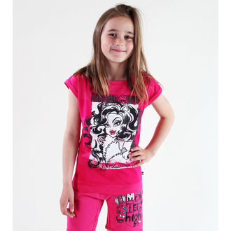 Mädchen T-Shirt Monster High - Pink, TV MANIA, Monster High