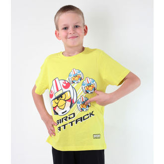 Jungen-T-Shirt  TV MANIA - Angry Birds - Lime - SWAB 326