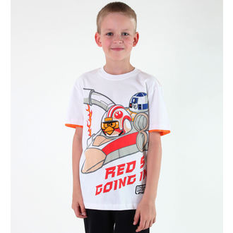 Jungen-T-Shirt  TV MANIA - Angry Birds - White - SWAB 327