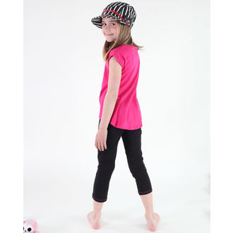 Mädchen Pyjama ( T-Shirt + Leggings) - Monster High - Pink / Black, TV MANIA, Monster High