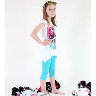 Mädchen Pyjama ( T-Shirt + Leggings) - Monster High - White, TV MANIA, Monster High