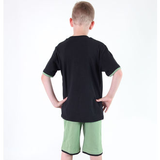 Set für Jungen ( T-Shirt + Shorts) TV MANIA - Star Wars Clone - Black- Star 826