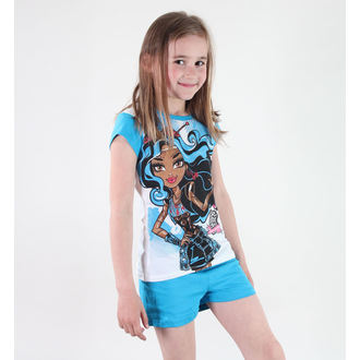 Mädchen Pyjama  TV MANIA - Monster High - White/Blue - MOH 545
