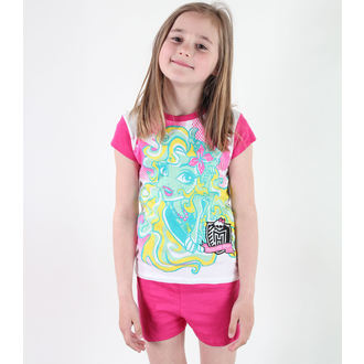 Mädchen Pyjama  TV MANIA - Monster High - White/Pink, TV MANIA