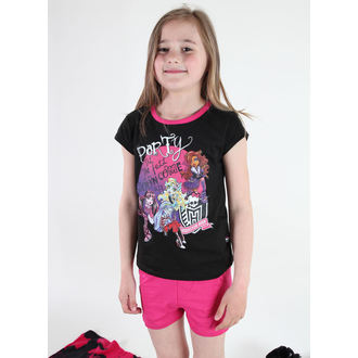 Mädchen Pyjama  TV MANIA - Monster High - Black - MOH 576