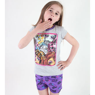 Mädchen Pyjama  TV MANIA - Monster High -Grey, TV MANIA, Monster High