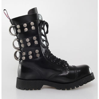 Schuhe NEVERMIND - 10 Loch - Rivets Black