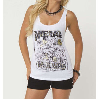 Damen Tanktop METAL MULISHA - FREEWAY - WHT