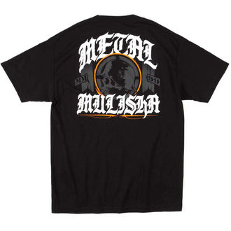Herren T-Shirt METAL MULISHA - MULISHA ELECT - BLK