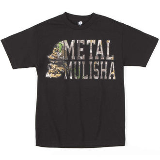 Herren T-Shirt METAL MULISHA - LOCKUP - BLK