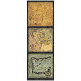 Poster Lord of the Rings - Maps of Middle Earth - DP0455