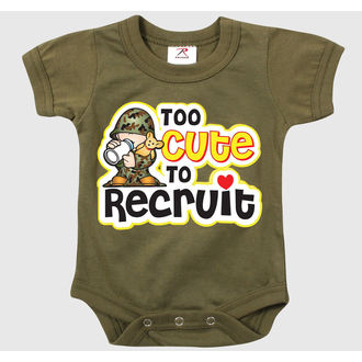 Baby Body ROTHCO - TOO CUTE TO RECRUIT - OD - 67150