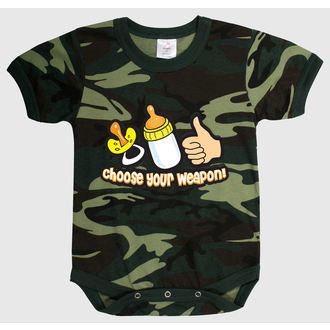 Baby Body ROTHCO - CHOOSE YOUR WEAPON - CAMO - 67077