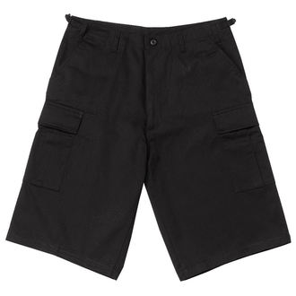 Herren Shorts  ROTHCO - LONGER STYLE - BLACK - 7761