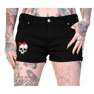 Damen Shorts  BANNED - Skeleton Hands - QBN1805