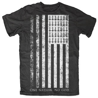 Herren T-Shirt   BLACK CRAFT - One Nation. No God - Black - MT024ON
