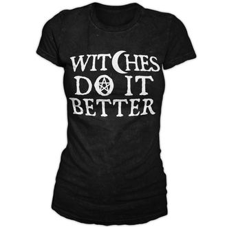 Damen T-Shirt  BLACK CRAFT - Witches Do It Better - Black - WT006WR