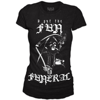 Damen T-Shirt  BLACK CRAFT - Fun in Funeral - Black - WT021FL