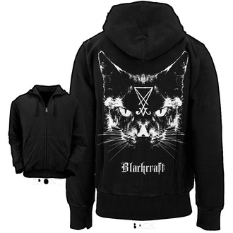 Männer Hoodie BLACK CRAFT - Lucifer the Cat - Black - HS004LT