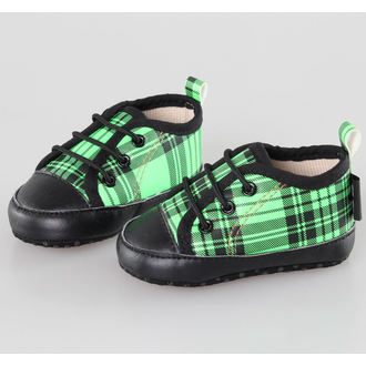 Kinderschuhe  LITTLE DIAMOND - Black/Green - 59137-011, LITTLE DIAMOND