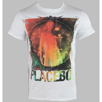 Herren T-Shirt   PLACEBO - SKELETON - WEISS - LIVE NATION, LIVE NATION, Placebo