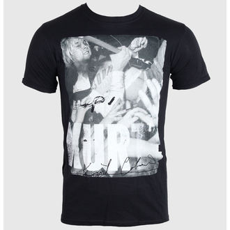 Herren T-Shirt   KURT COBAIN - CROWD DIVE - BLACK - LIVE NATION - RTKCO0103