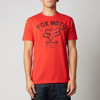 Herren T-Shirt FOX - Knowhere - Red