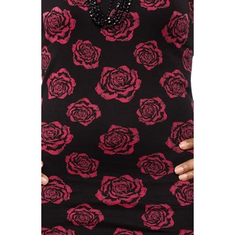 Damen Kleid  SOURPUSS - Omni Roses Tank - Black - SPDR71