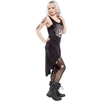 Damen Kleid  SOURPUSS - Hi Low Omni - Black