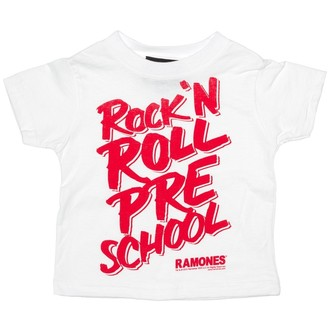 Kinder T-Shirt SOURPUSS - Ramones - RNR Pre School - White