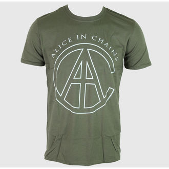 Herren T-Shirt Alice In Chains - Rocks - Green - BRAVADO - AIC1011