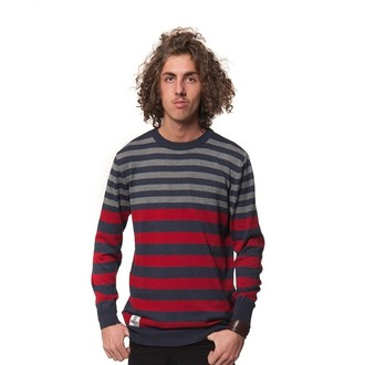 Männer Pullover HORSEFEATHERS - MAGNETIC - Ruby
