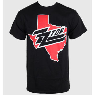 Herren T-Shirt ZZ-Top - Texas - Black - BRAVADO - ZZT1010
