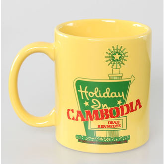 Keramiktasse Dead Kennedys - Holiday in Cambodia - ROCK OFF - DKMUG02