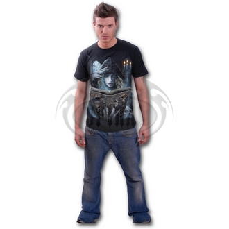 Herren T-Shirt SPIRAL - BOOK OF FLESH - BLK - DW208600