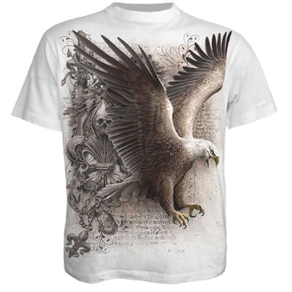 Herren T-Shirt SPIRAL - WINGS OF FREEDOM - WEISS - WM123619