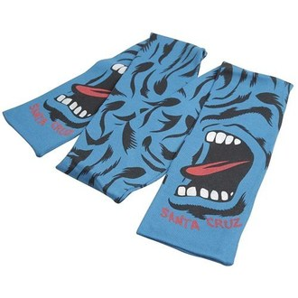 Schal SANTA CRUZ - Screaming Camo Scarf - Blue, SANTA CRUZ