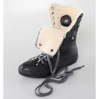 Damen Winterboot  CONVERSE - Chuck Taylor All Star Knee-Hi - Black, CONVERSE